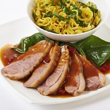 DUCK WITH SWEET CHILLY SAUCE