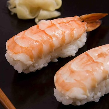 NIGIRI WITH SHRIMP