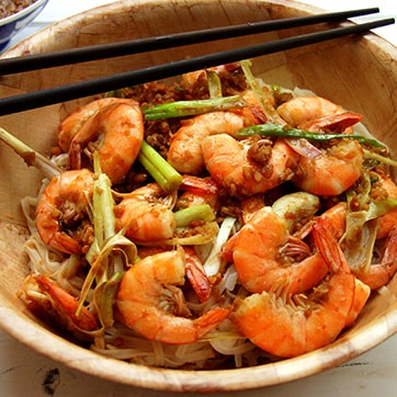 SHRIMPS SATAY