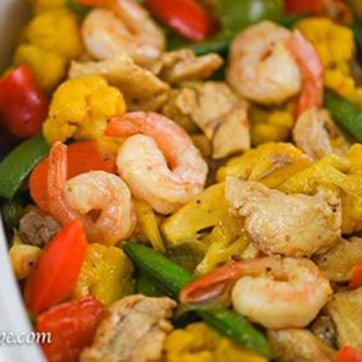 SHRIMPS CHOPSUEY